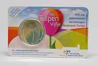 Niederlande 5 Euro Tulpe 2012 Stgl. in Coincard