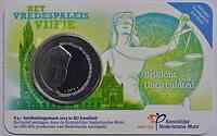 Niederlande 5 Euro 100 Jahre Friedenspalast 2013 Stgl. Coincard