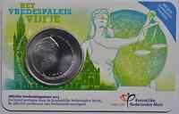 Niederlande : 5 Euro 100 Jahre Friedenspalast  2013 vz/Stgl.