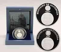 Portugal : 5 Euro Mosteiro de Alcobaca inkl. Originaletui und Zertifikat  2006 PP