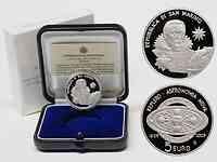 San Marino : 5 Euro 400 Jahre Keplersche Gesetze inkl Originaletui und Zertifikat  2009 PP 5 Euro Keplersche Gesetze 2009