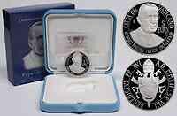 Vatikan : 5 Euro 100. Geburtsjahr Johannes Paul I.  2012 PP