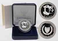 Zypern : 5 Euro Zypern als Mitglied der Europäischen Währungsunion inkl. Originaletui und Zertifikat  2008 PP 5 Euro EU-Beitritt Zypern 2008