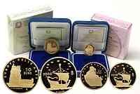 Italien : 70 Euro 20 + 50 Euro : Set aus 2 Münzen Niederlande Vermeer und Portugal Belemturm inkl. Originaletui und Zertifikat  2008 PP