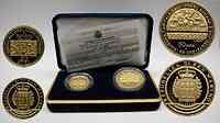 San Marino : 20 + 50 Euro Ravenna 2002 PP Gold