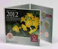 Österreich : 3,88 Euro Originalsatz der Österreichischen Münze  2012 Stgl. KMS Österreich 2012