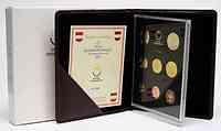 Österreich : 3,88 Euro KMS Österreich mit 2 Euro Gedenkmünze 10 Jahre Euro-Bargeld  2012 PP