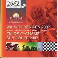 Belgien 3,88 Euro Radrennen im Originalblister 2002 Stgl.