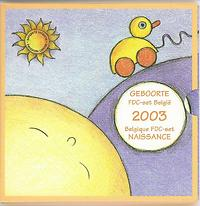 Belgien : 3,88 Euro original KMS Baby aus Belgien  2003 bfr