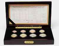 Belgien : 3,88 Euro original Kursmünzensatz der belgischen Münze  2009 PP KMS Belgien 2009 PP