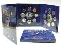 Belgien : 11,64 Euro original KMS Benelux, enthält alle Euro-Kursmünzen der Länder Belgien, Niederlande, Luxemburg + Medaille (inkl. der Gedenkmünze Römische Verträge) 2007 Stgl.