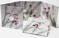 Belgien : 11,64 Euro original KMS Benelux, enthält alle Euro-Kursmünzen der Länder Belgien, Niederlande, Luxemburg + Medaille  2008 Stgl. KMS Benelux 2008