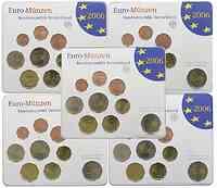 """Deutschland : 29,40 Euro kompletter Satz in Originalverpackung """"Bad Homburg"""" - jetzt mit zusätzlicher 5 x 2 Euro Gedenkmünze """"Holstentor"""" 2006 Stgl."""