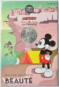 Frankreich : 10 Euro Balade 8/20  2018 bfr