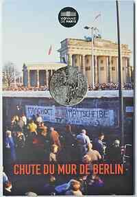 Frankreich : 10 Euro Fall der Berliner Mauer  2019 bfr