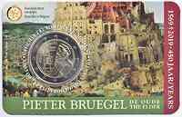 Belgien : 2 Euro 450 Jahre Pieter Bruegel der Ältere  2019 Stgl.