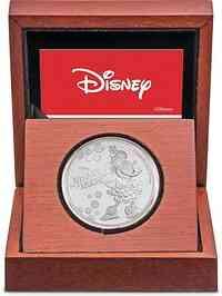Niue : 2 Dollar Disney - Minnie Mouse 1 oz 2019 PP