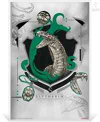 Niue : 1 Dollar Slytherin - Harry Potter  Silberbanknote  2020 Stgl.