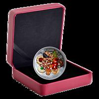 Kanada : 20 Dollar Weihnachtskekse - mit Muranoglas - farbig  2020 PP