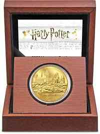 Niue : 250 Dollar Hogwarts Castle - Harry Potter  1 oz  2020 PP