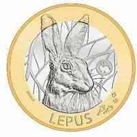 Schweiz : 10 sfr Hase - Serie Schweizer Waldtiere #2 von 3  2020 PP