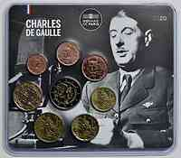 Frankreich : 3,88 Euro Mini KMS Charles de Gaulle  2020 Stgl.