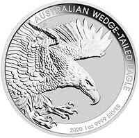 Australien : 1 Dollar Keilschwanzadler 1 oz 2020 Stgl.