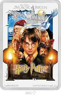 Niue : 2 Dollar Harry Potter-Der Stein der Weisen-Movie Poster 1  2020 PP