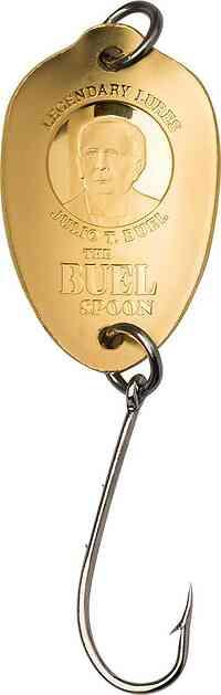 Cook Islands : 20 Dollar Buel Spoon - Angelhaken  1/10 oz  Silk Finish  2020 Stgl.