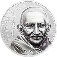 Mongolei : 1000 T Mahatma Gandhi  (Schwarz/Weiß-Effekt)  2020 PP