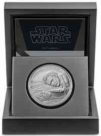 Niue : 2 Dollar Star Wars - Lando Calrissian   1 oz  2020 PP