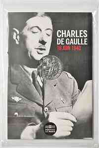 Frankreich : 10 Euro Charles de Gaulle - Appell am 18. Juni 1940  2020 Stgl.