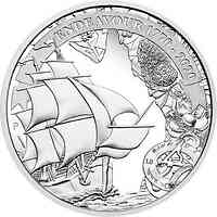 Australien : 1 Dollar Endeavour - Voyage of Discovery 1 oz 2020 PP