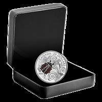Kanada : 20 Dollar Bejeweled Bugs-Marienkäfer #3 mit Edelsteinen  2020 PP