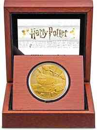 Niue : 250 Dollar Hogwarts Express - Harry Potter  1 oz  2020 PP