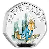 Großbritannien : 0.5 Pound Beatrix Potter - Peter Rabbit 2020 PP
