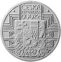 Tschechische Republik : 500 Kronen 100 Jahre Tschechoslowakische Verfassung  2020 Stgl.