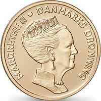 Dänemark : 20 Kronen 80. Geb. Königin Margarethe  2020 bfr