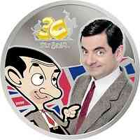 Cook Islands : 5 Dollar Mr. Bean - im Blister 2020 PP