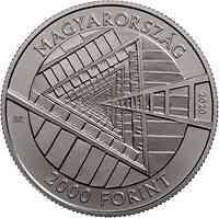 Ungarn : 2000 Forint 100. Geburtstag Janos Harsanyi  2020 Stgl.