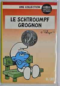 Frankreich : 10 Euro Mürrisch 8/20  2020 Stgl.