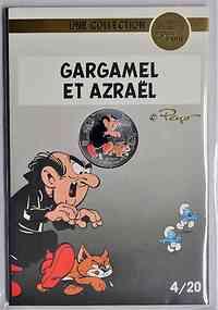 Frankreich : 10 Euro Gagamel und Azrael 4/20  2020 Stgl.