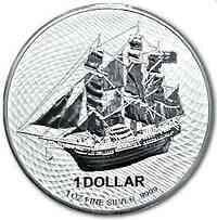 Cook Islands : 1 Dollar Bounty 1 oz  2020 Stgl.