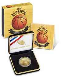 USA : 5 Dollar Basketball - Hall of Fame  2020 Stgl.