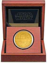 Niue : 250 Dollar Star Wars - Death Star  1 oz  2020 PP