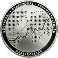 Ungarn : 10000 Forint 30 Jahre Börse Budapest 2020 PP