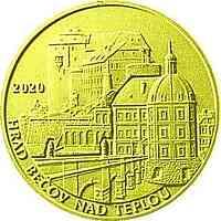 Tschechische Republik : 5000 Kronen Schloss Becov nad Teplou - Tschech. Burgen  2020 PP