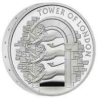 Großbritannien : 5 Pfund Der Tower von London – Die königliche Menagerie - Piedfort  2020 PP