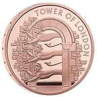 Großbritannien : 5 Pfund Der Tower von London – Die königliche Menagerie  2020 PP