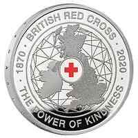 Großbritannien : 5 Pfund 150 Jahre Britisches Rotes Kreuz   2020 PP